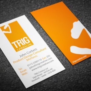Spot Colour Business Card Printing