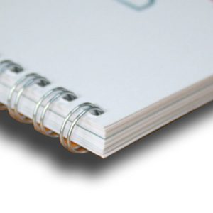 wire book binding