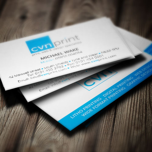 Cvn business card printing cvn print home litho digital wide format printing business card printing cvn business card printing reheart Choice Image