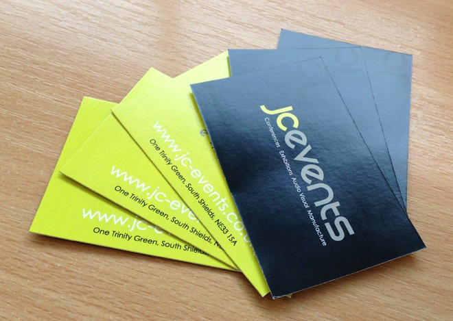 JC Events Digital Business Cards