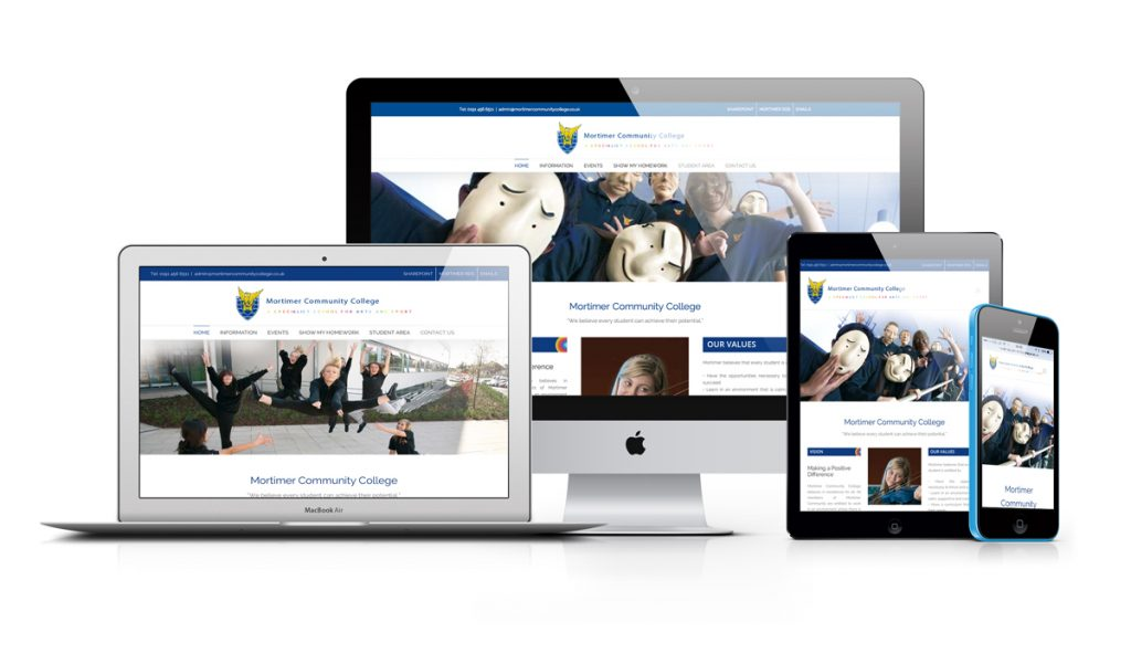 Mortimer Responsive Website